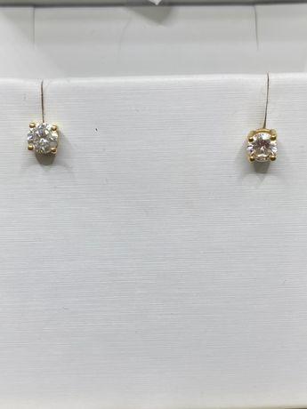 Cercei cu diamante 0,52 ct
