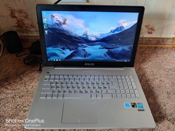 Продам ноутбук Asus N550JK Core i7, SSD 128+HDD 1000, GTX 850!