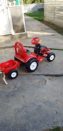 Tractoras electric copi.