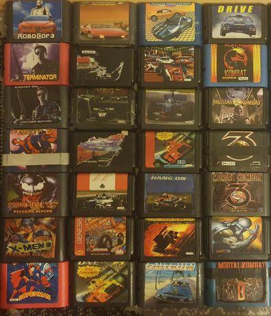 Картриджи для игровой приставки Сега (SEGA Mega Drive 16Bit)
