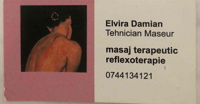 Masaj Terapeutic Reflexoterapie