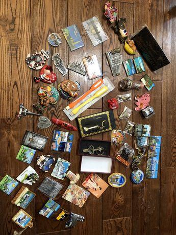 Магнитики сувениры с разных стран