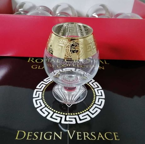 Set 6 pahare coniac Royal Cristal