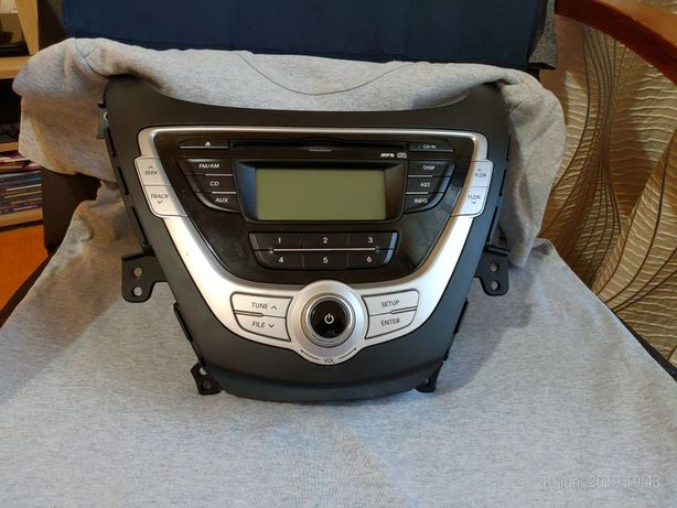 Radio cd mp3 Hyundai elantra 2012