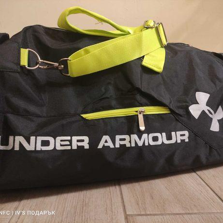 Спортни сакове на Under Armour и Wilson