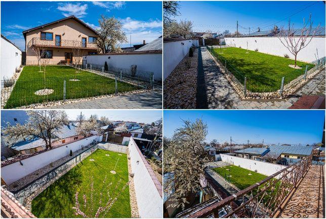 Vând casa în Chercea - 159mp amprenta la sol, mobilata + teren 520 mp