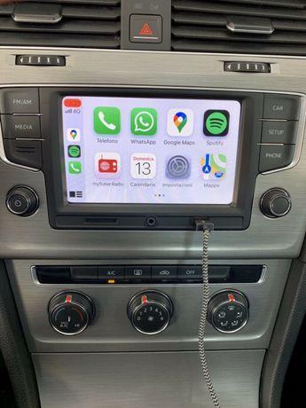 Radio Navigatie Volkswagen VW Golf 7 Passat B8 Apple Carplay RCD 330
