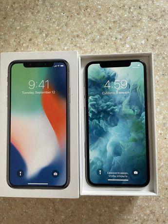 Продам iphone x 64 gb белый в идеальном состояний