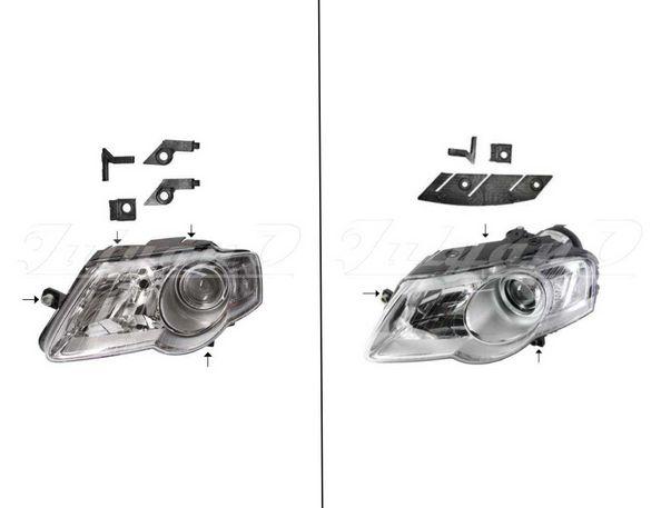 Щипки за закрепване на фар за VW PASSAT B6 (05-10)