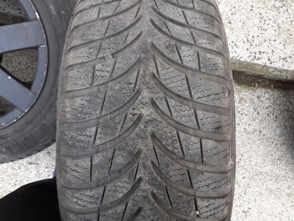 Продавам зимни гуми с лети джанти за Фолксваген, Шкода, Сеат
