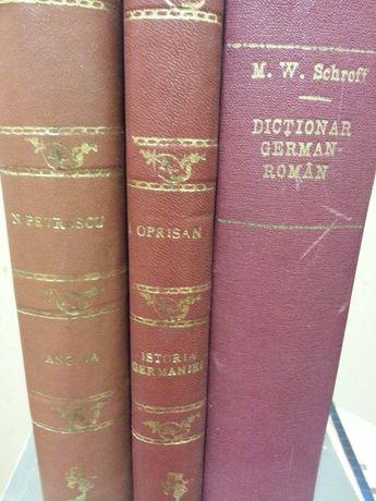 Dictionar German-Roman, din anul 1916