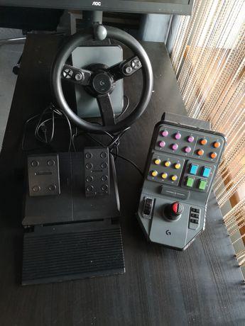 Volan + pedale + Controller Logitech Farming Simulator Heavy Equipment
