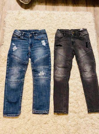 Skinny fit biker jeans