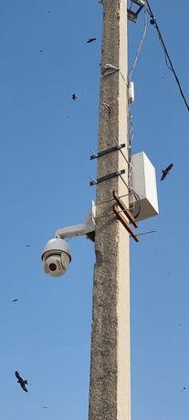 Установка систем видеонаблюдения и организация локальных сетей/ камера