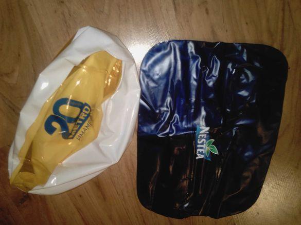 Надуваеми възглавница и топка