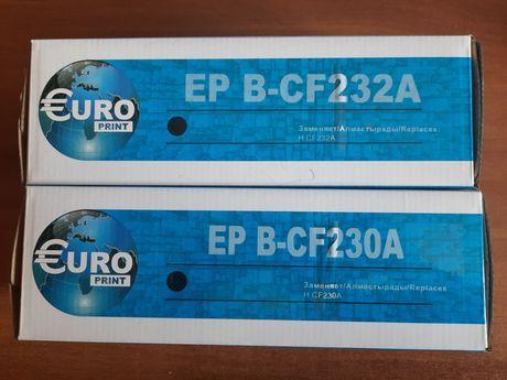 Продам картриджи CF230A и CF232A без чипа
