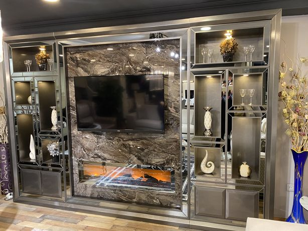 Tv wall , mobilier tv import turcia