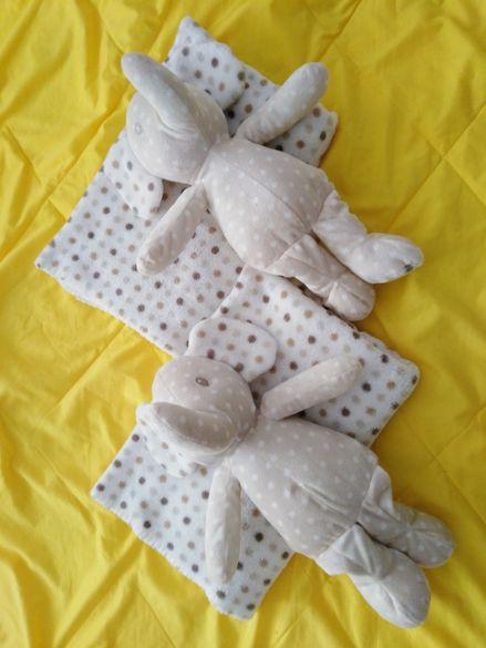 Мекички одеалца с играчки слончета