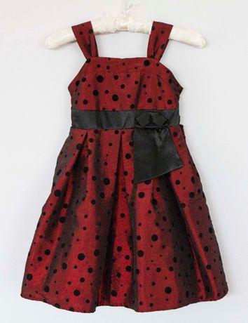 Детска сатенена рокля Аdams 5 и 9 години
