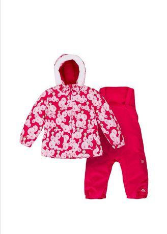 Trespass - Costum ski roz zmeura 6-12 luni