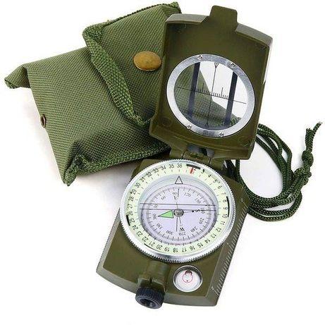 Busola militara profesionala cu compas si functie de reper prismatic