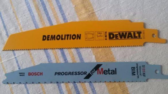 нож ножове за метал девалт бош саблен трион DeWalt Bosch