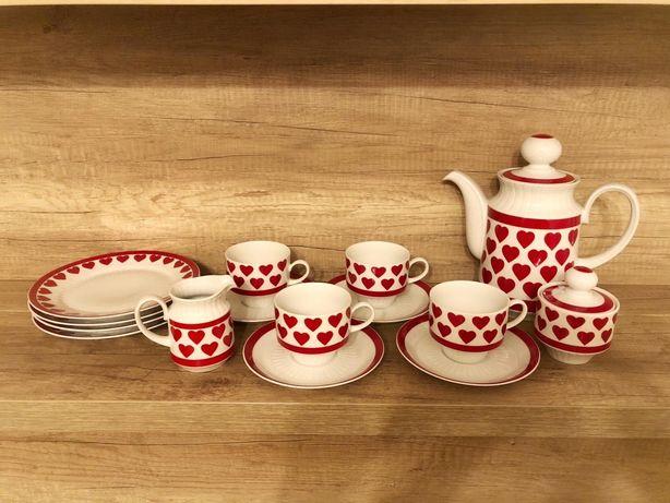 Set ceai/desert/cafea portelan Bavaria
