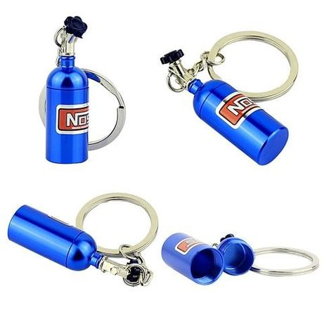 Breloc NOS Mini Butelie Nitro 3 Culori