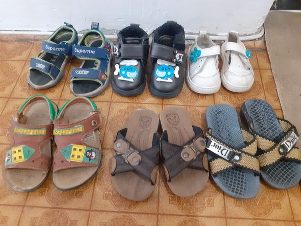 Детские обуви на мальчика