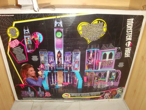 Monster high-голям комплект за игра с кукли