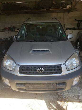 Тойота рав 4 дизел 2003 г на части