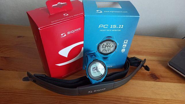 Профессиональные часы для бега Sigma PC 15.11
