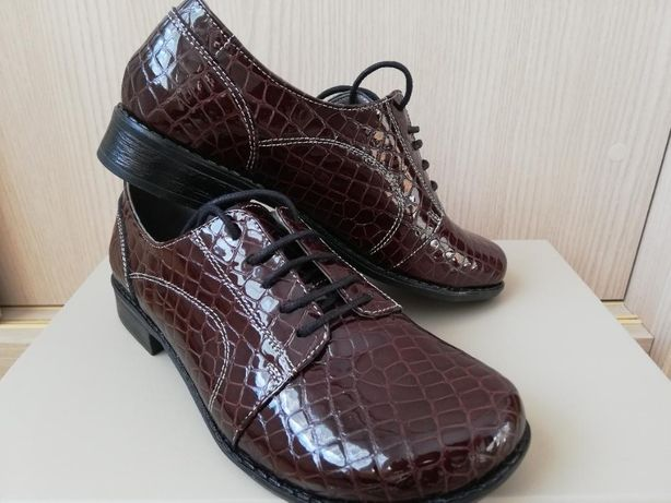 Pantofi din piele naturala 36
