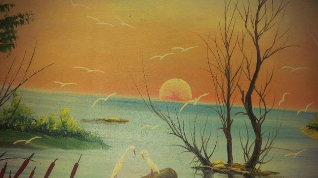 Vand-schimb tablouri pictura in ulei neinramate