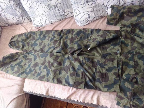 Камуфлажен маскировъчен комплект яке и панталон летни военни лятни