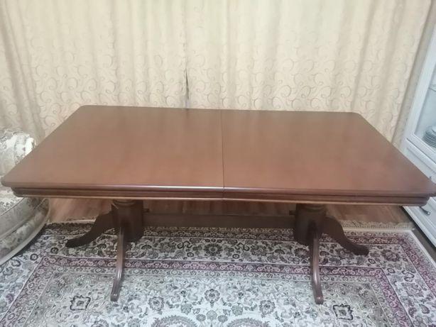 Продаю новый раздвижной стол, длина 1.80+30, ширина 1 , 130 тыс тенге