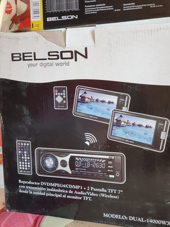 DVD player auto BELSON nou