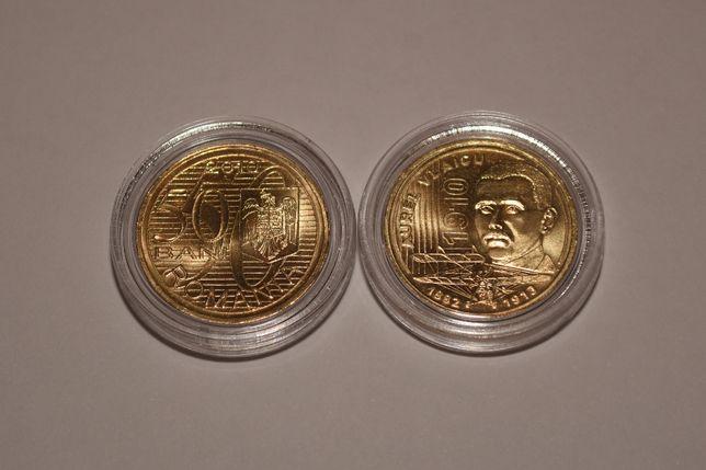 Monedă 50 bani Aurel Vlaicu 2010, UNC