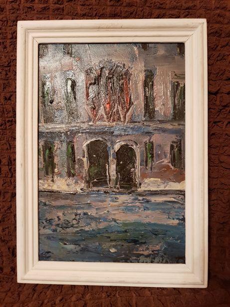 Pictură-Casă în Veneția-Alexis
