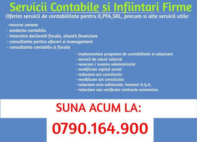 OFERTA!! Infiintare Firma + Contabilitate + Salarizare