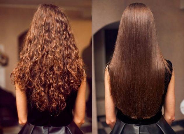 Кератиновое выпрямление, прикорневой объем, полировка волос, кератин