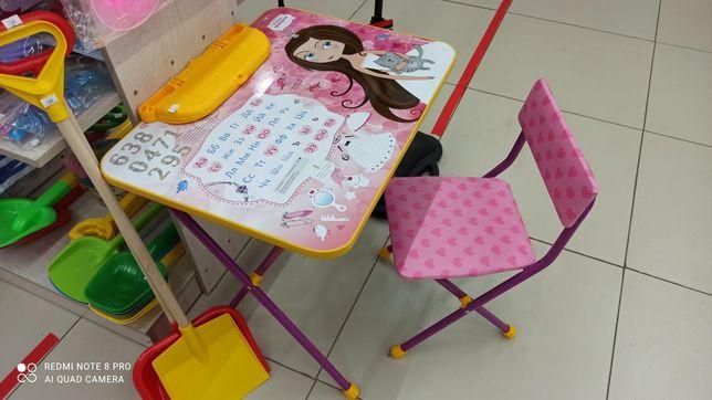 Продам детский стол со стульчиком