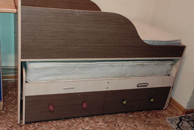 Детский кровать двухъярусная