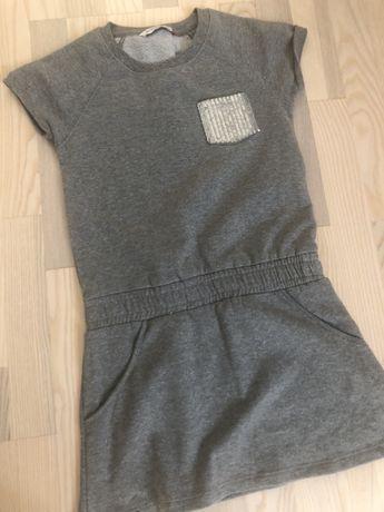 Памучна рокля/туника 146 см