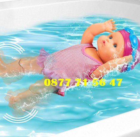 ПЛУВАЩО БЕБЕ интерактивно, Кукла с бански костюм и очила