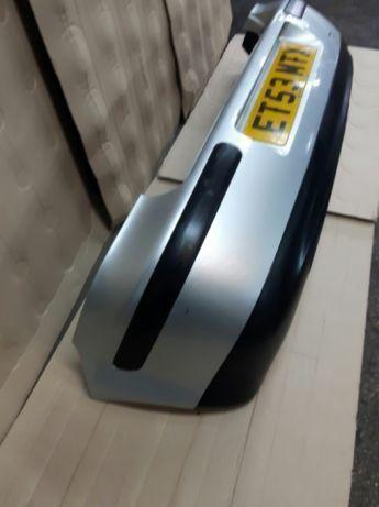 Bara spate Golf 4 hatchback scurt gri LA7W argintie cu fusta si bandou