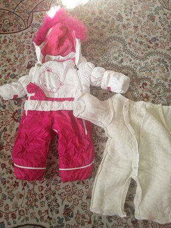 Куртки зимние для девочек