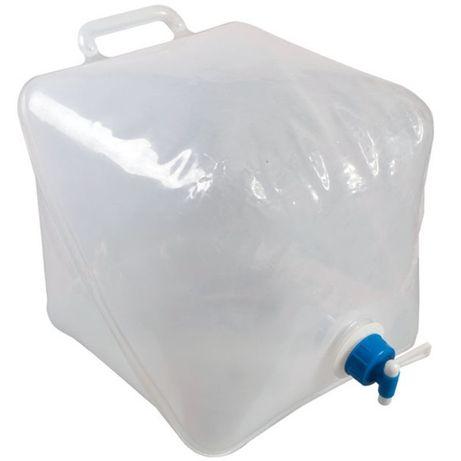 Сгъваема туба за вода с канелка Kampa Drench 20L