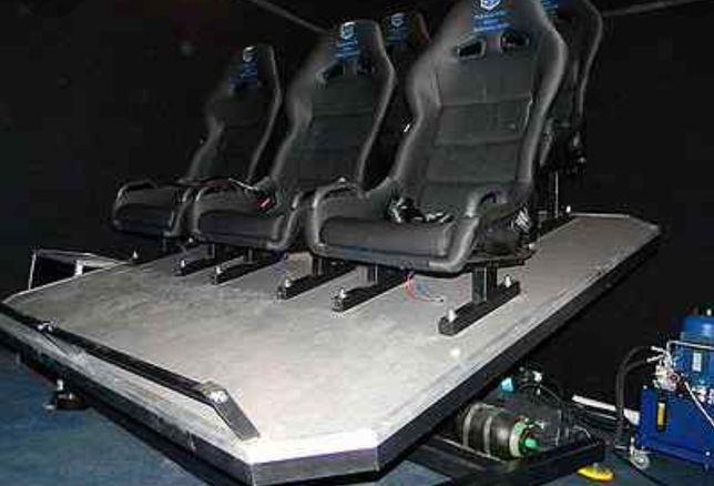 5D кинотеатр разобранный