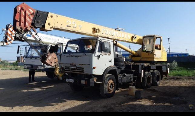 Услуги, аренда автокрана Камаз 25 тонн